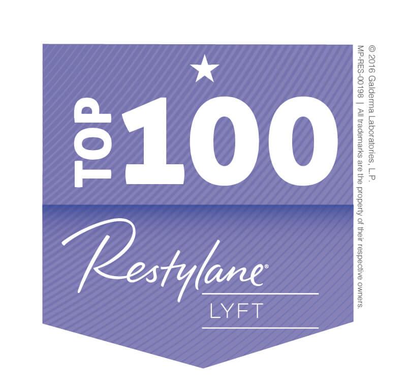 Top 100 Restylane Lyft