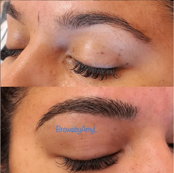Microbladed brows by Amy L. at PowerMD