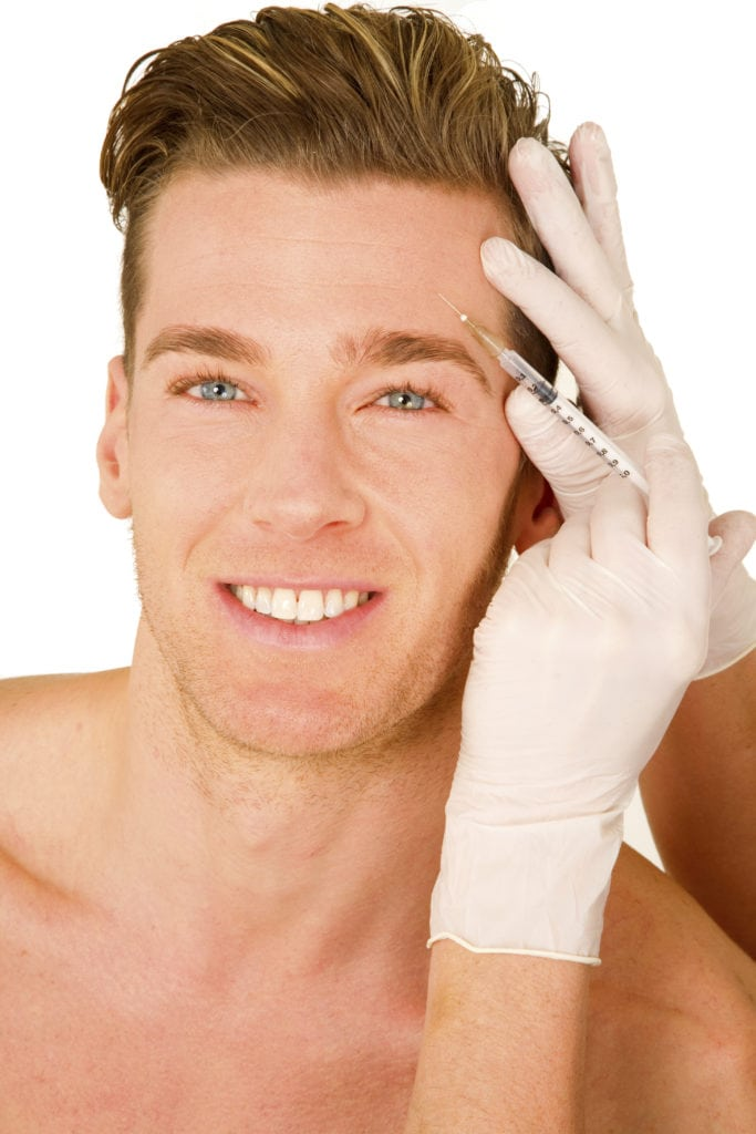 Injection of Neuro-Relaxer to treat fine lines