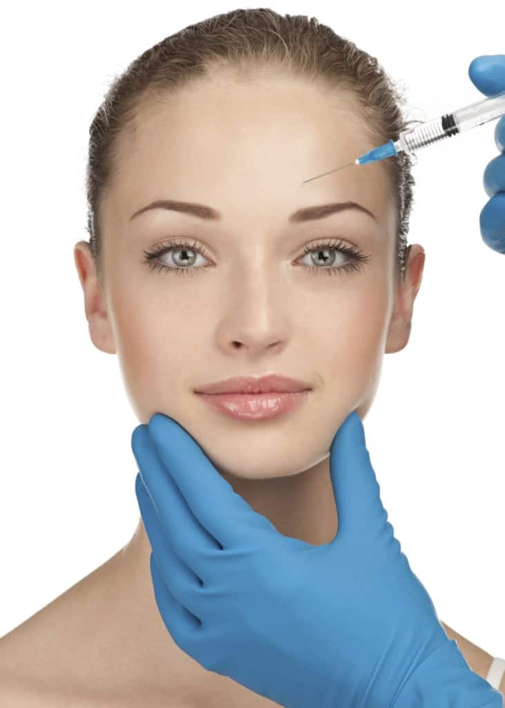 Injection of Botox, Dysport, or Xeomin to treat and relax fine lines